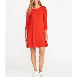 Old navy jersey-knit swing dress